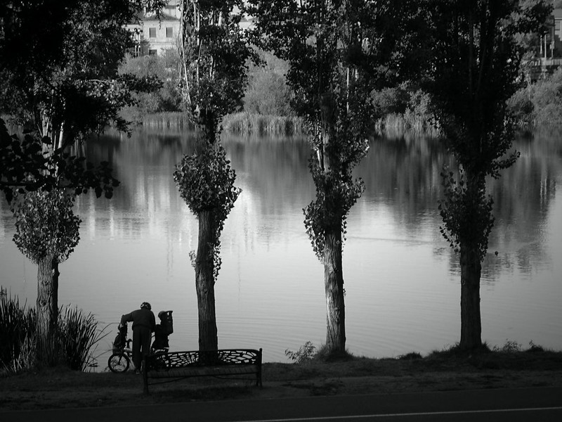 By the River Tormes in Salamanca
