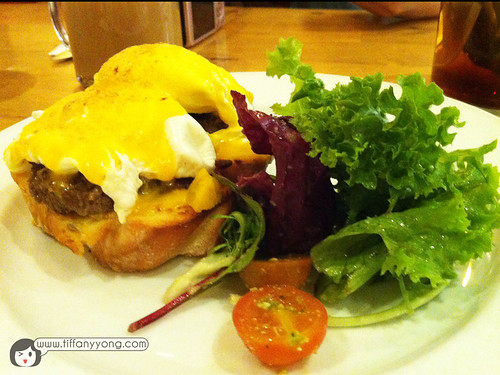 Egg Beef Patty