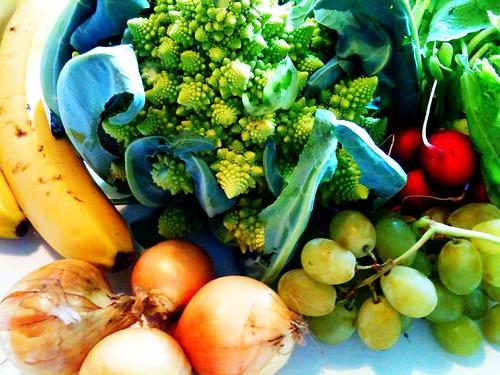 Odin groente- en fruittas