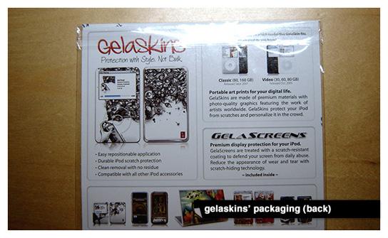 Gelaskins - The Packaging