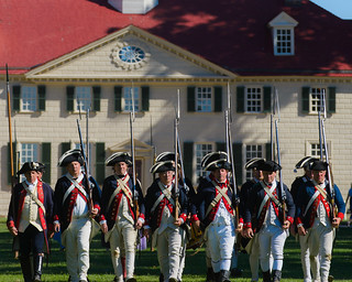 Colonial March at Mount Vernon
