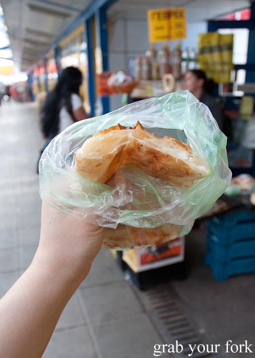 banitsa cheese pastry at Zhenski Pazar Jenski Pazar Women's Market Sofia