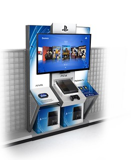 PS4 Retail Kiosks, 01