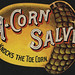 Small photo of A-corn salve knocks the toe corn. [front]