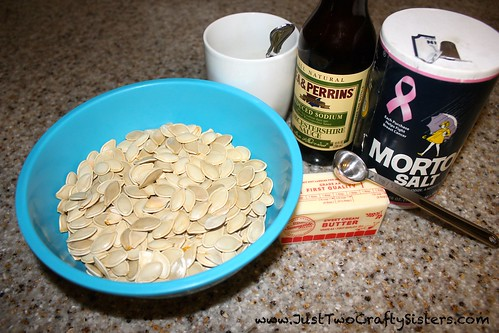 Savory simple pumpkin seed recipe
