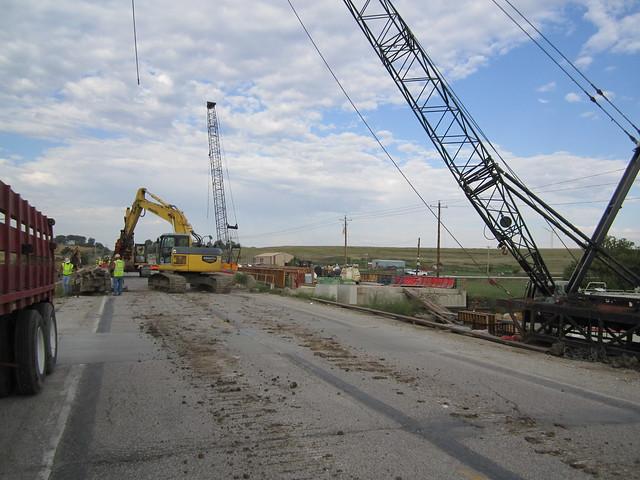 Massena Bridge Project- Demolition 9-27-13