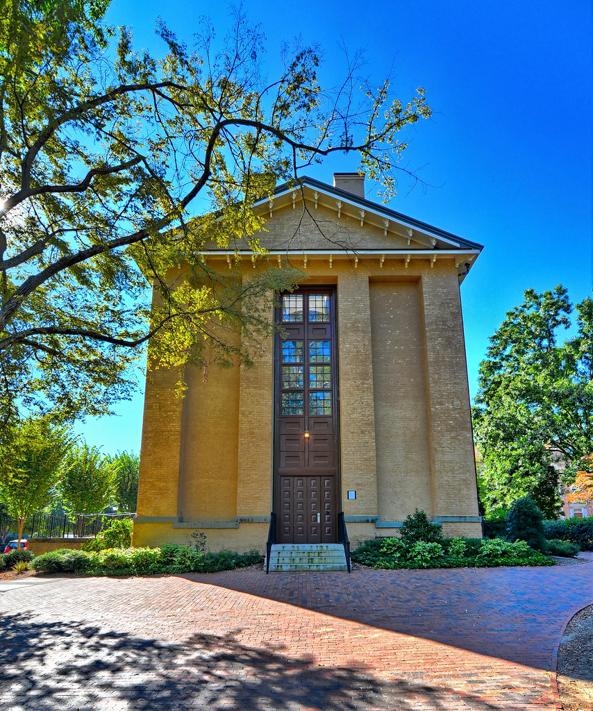 Old East Building at the University of North Carolina
