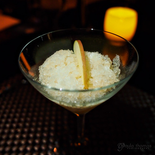 Apple Granita and Basil Hayden