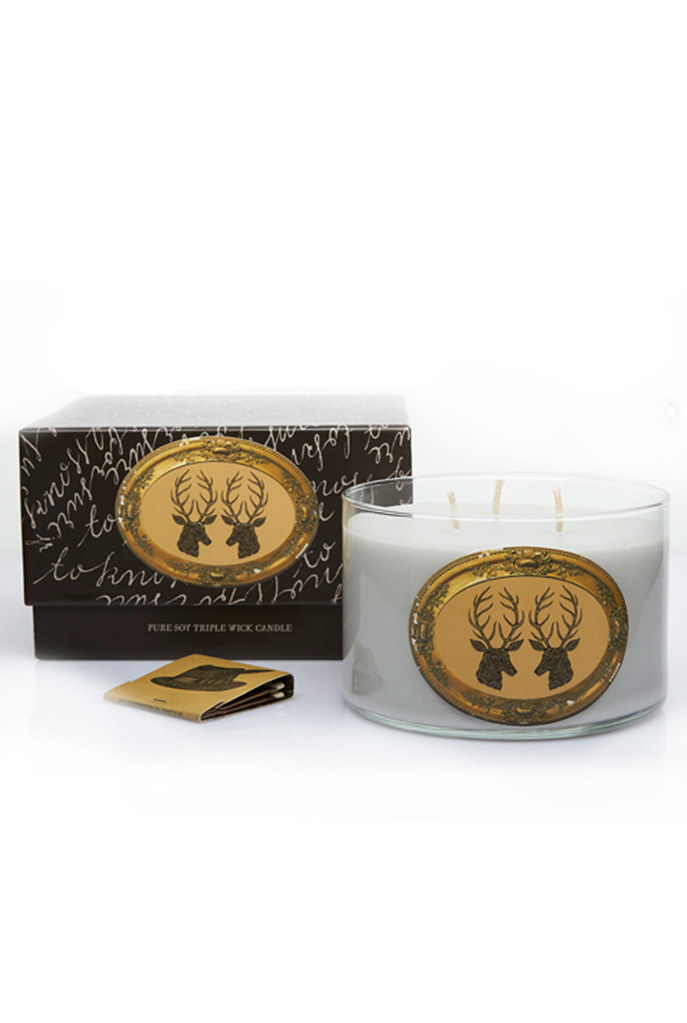 Stag 17 oz. Triple Wick Candle