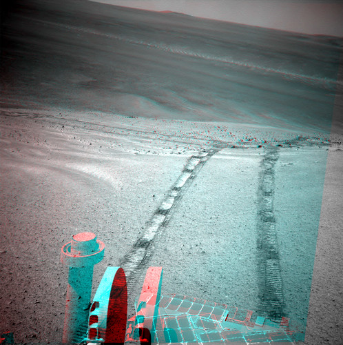 Opportunity sol 3479 NavCam anaglyph