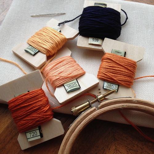 Sampler #4: Orangework