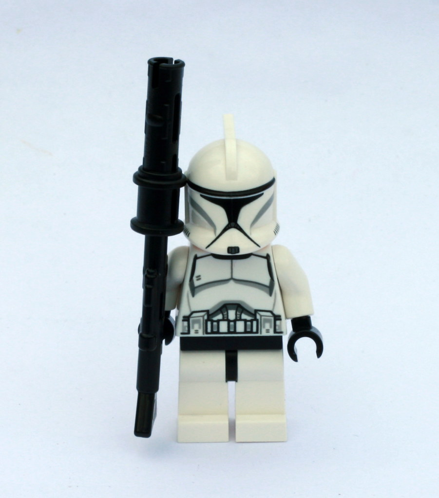 Star Wars Clones Phase 1 Clone Trooper in Phase 1