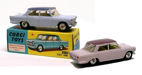 Corgi Fiat 1800 & 2100