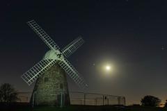 Moonlit mill