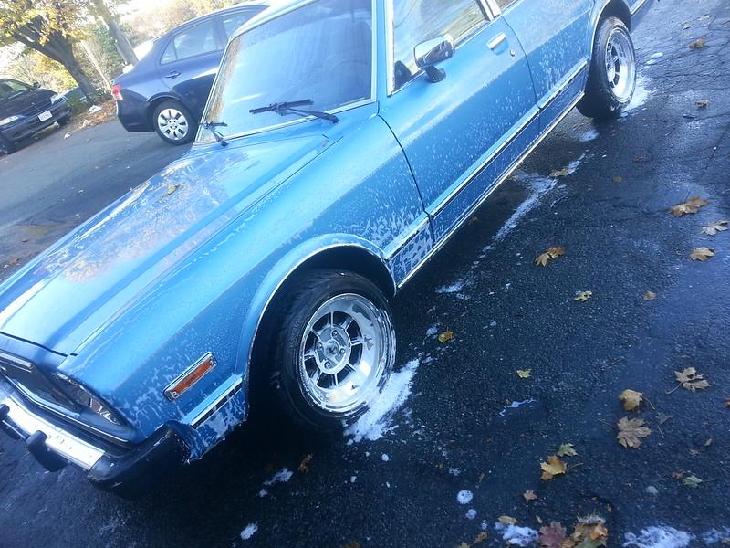 '79 Blue Metallic X3 in Massachusetts  11072041655_21cd7b738b_c