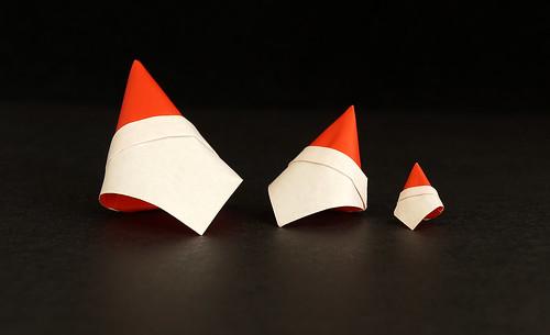 Origami Face Santa (Seiryo Takekawa)