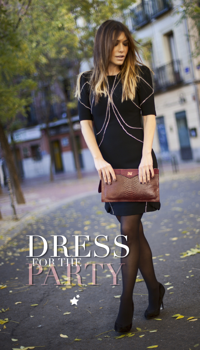 street style barbara crespo dress for the party rent la mas mona outfit fashion blogger
