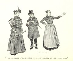 """British Library digitised image from page 19 of """"About Paris ... Illustrated by Charles Dana Gibson"""""""
