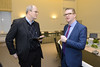 Finance Minister Simon Hamilton meets Heiki Loot, the Estonian Secretary of State in the Estonian Government's e-Cabinet room by Northern Ireland Executive