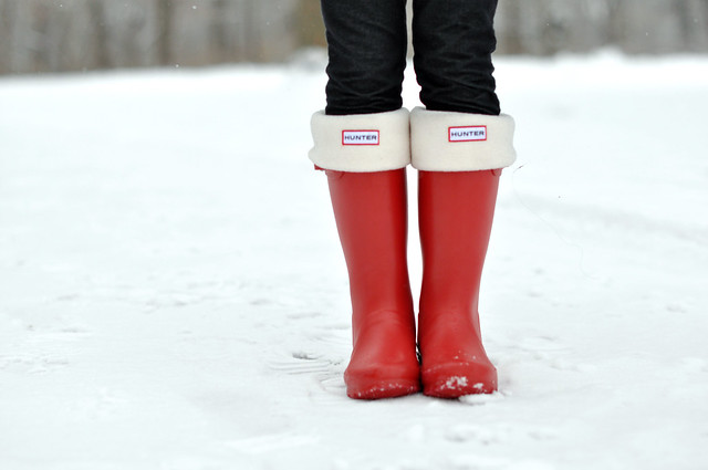 I personally think the price tag for a pair of Hunter wellies is worth it.  They are available in an array of darling colors (red, purple, blue, grey,  berry, ... - Sydney's Fashion Diary: Twinsies And Hunter Kids Rain Boots