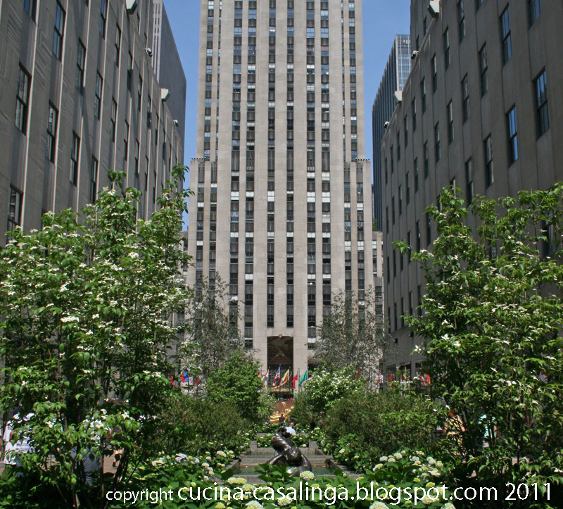 Rockefeller Center unten
