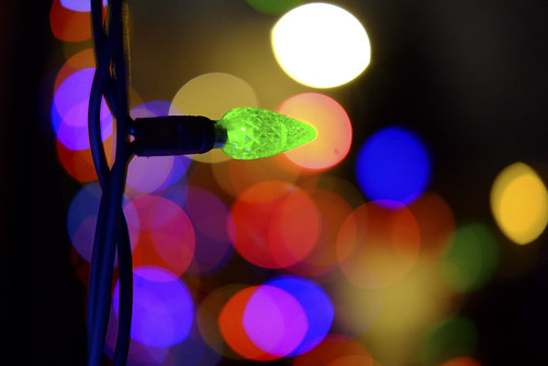 Christmas Bokeh by blairware