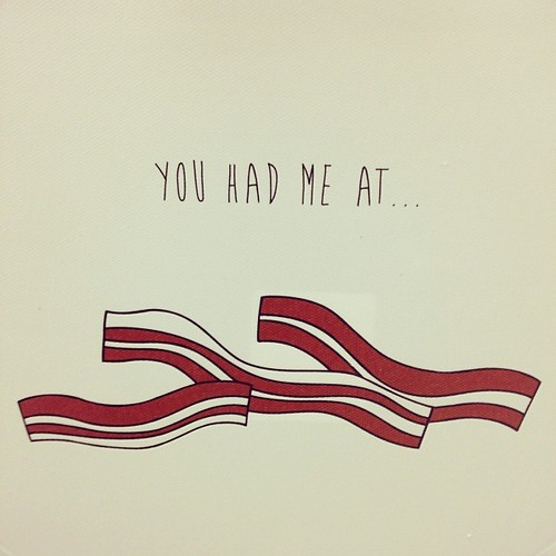 You had me at bacon. #truth #target #print
