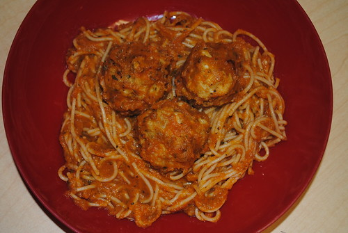 Spaghetti and Meatballs with Notomato Sauce (8)