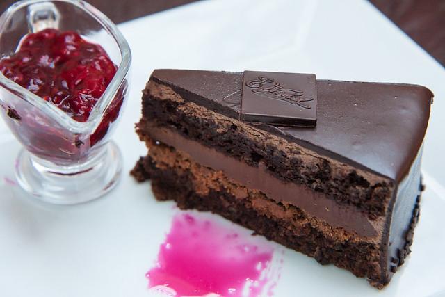 Chocolate cake, E. Wedel, Krakow