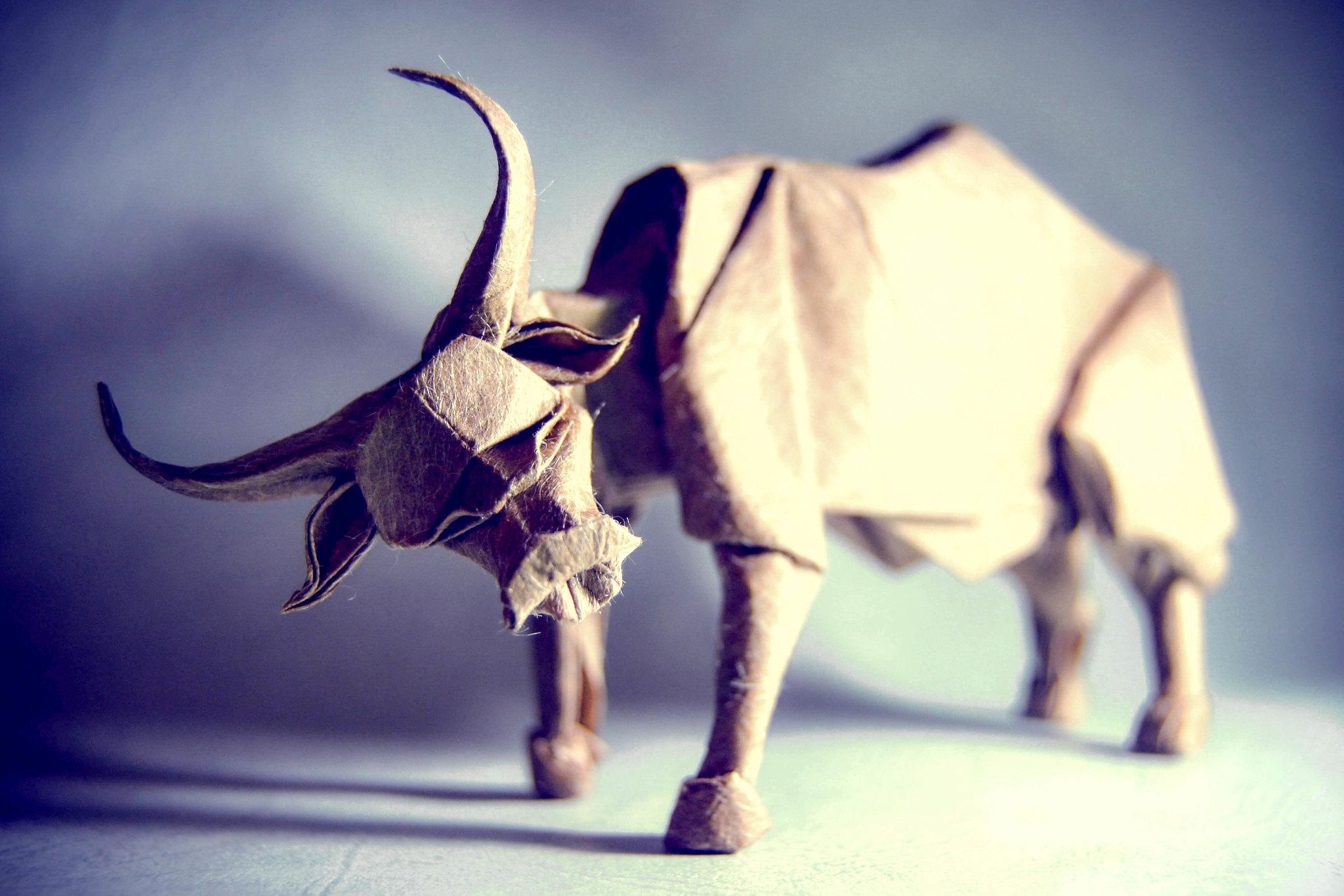 Origami Water Buffalo - Nguyen Hung Cuong