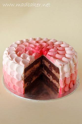 Inside Petal Cake