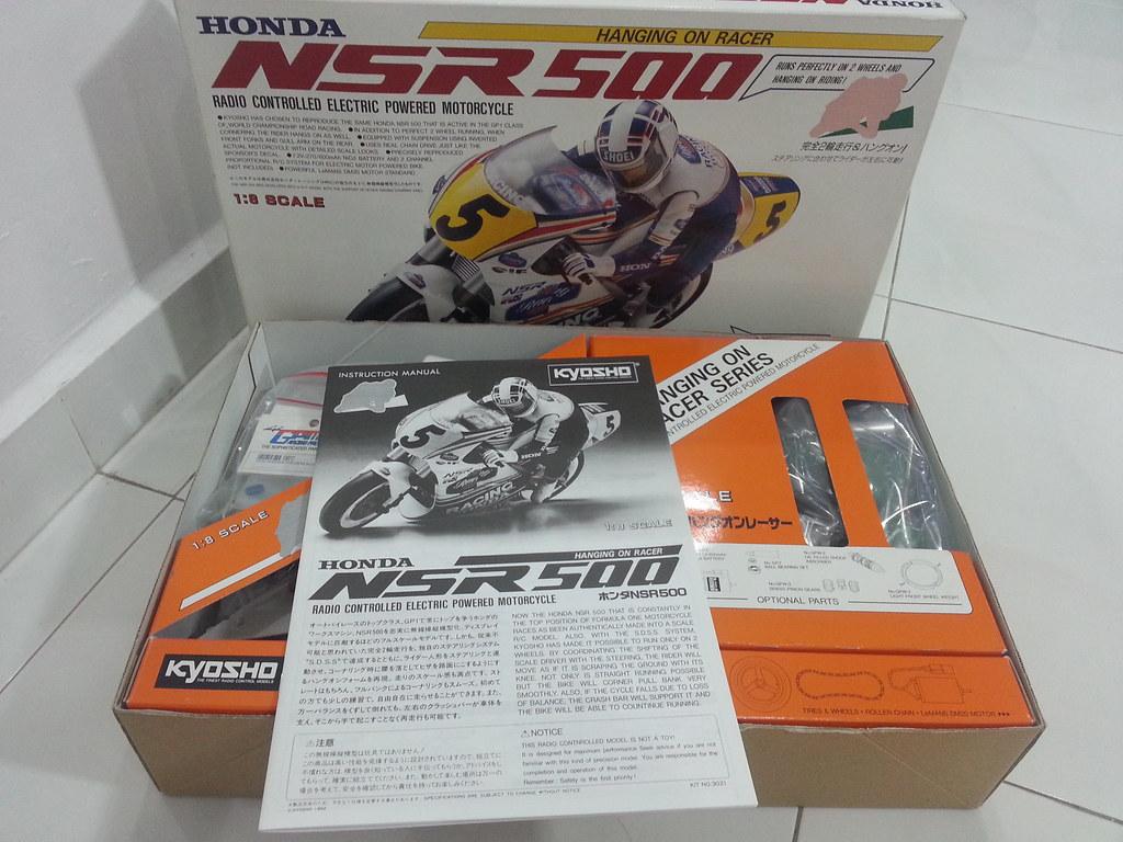 Babyboy's Kyosho Honda NSR 500 HOR 11971797194_3d3b1eb7c3_b