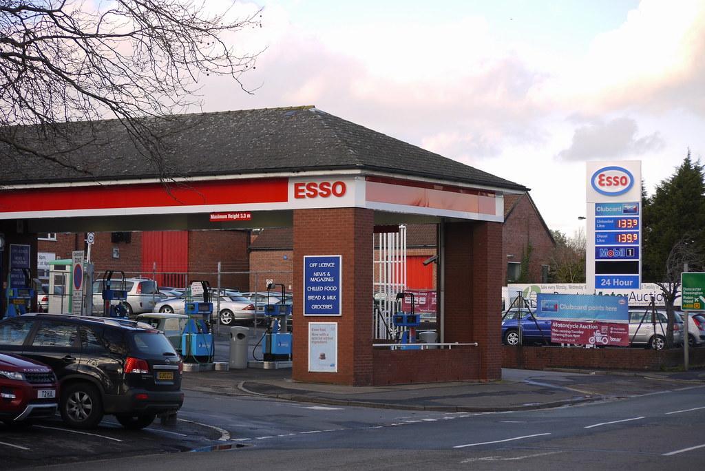 Esso, Bawtry South Yorkshire.