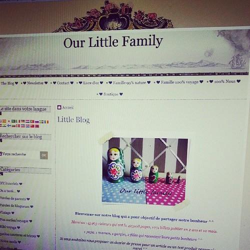 ♧ le blog a changé. Vous aimez? ♧ #ourlittlefamily #france