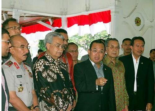 Tim Pemantau Otsus RI Gelar Pertemuan Dengan Muspida Aceh