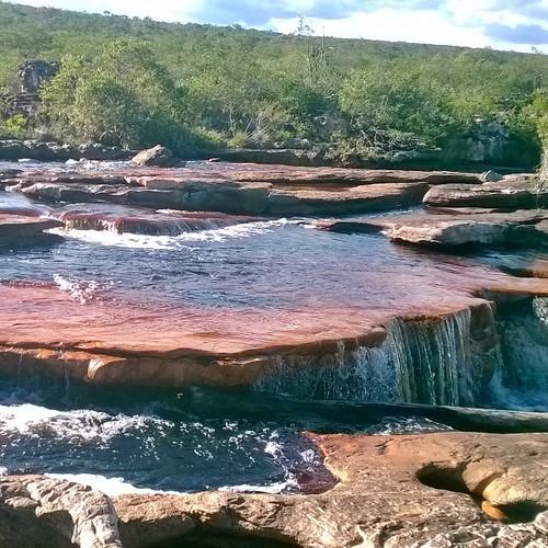 Cachoeira da Andorinhas - Município de Iramaia - BA