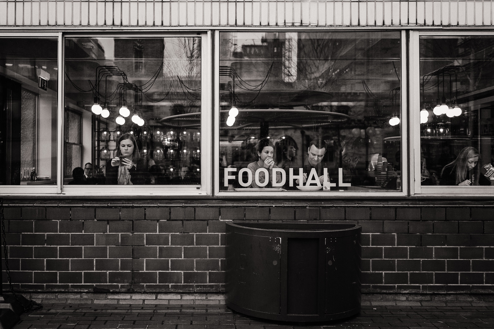 Lunch at the Food Hall