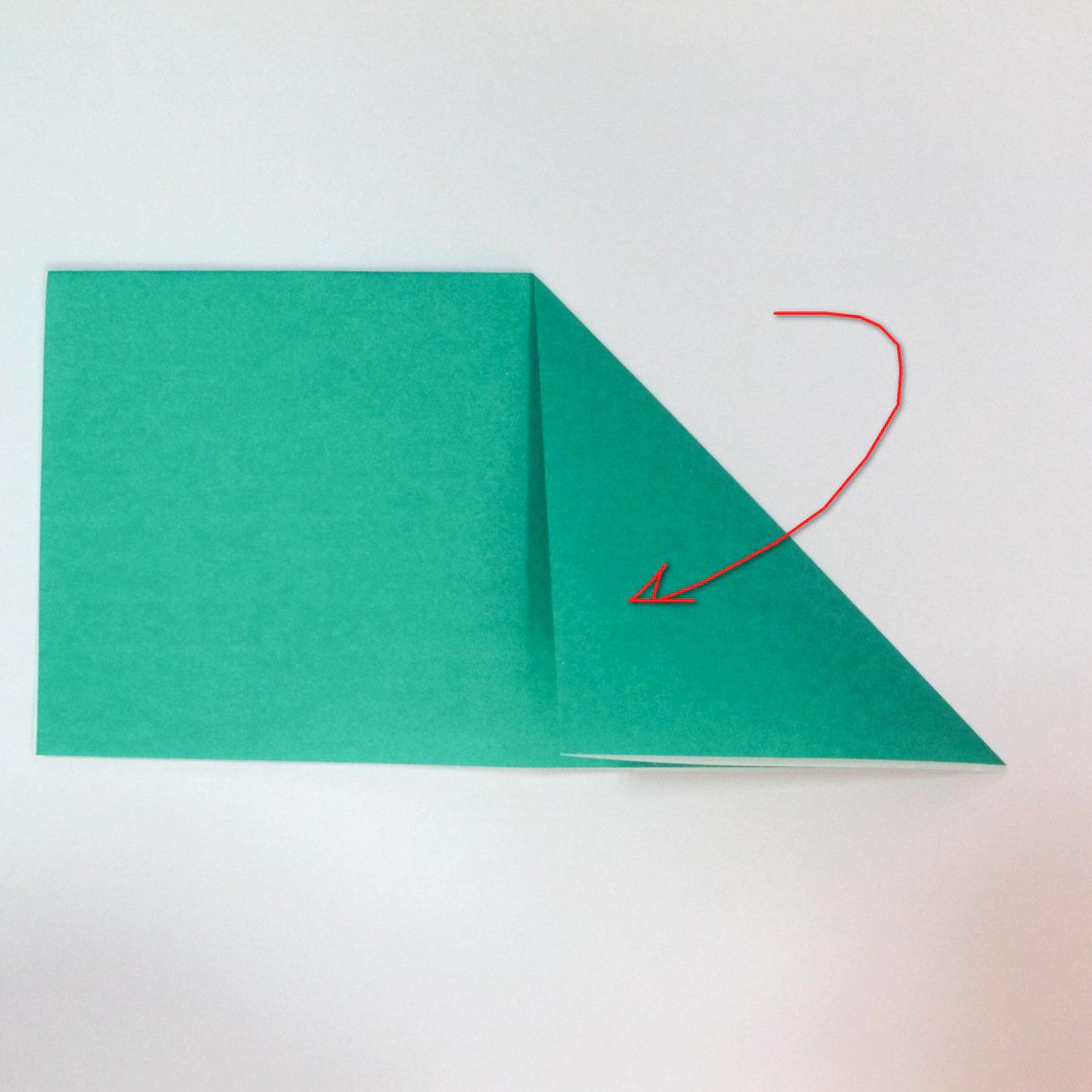 สอนวิธีการพับกระดาษเป็นรูปปลาฉลาม (Origami Shark) 003