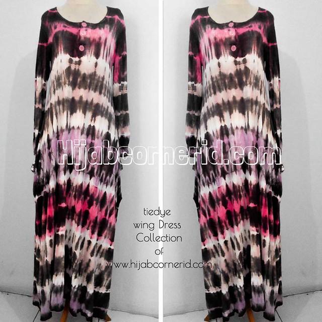 Baju Pelangi Model Wing Dress   Best Seller Tiedye 2013