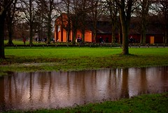 20140202_23_Coombe Country Park - Visitor Centre reflections