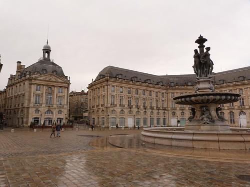 Plaza del Comercio de Burdeos (Francia)