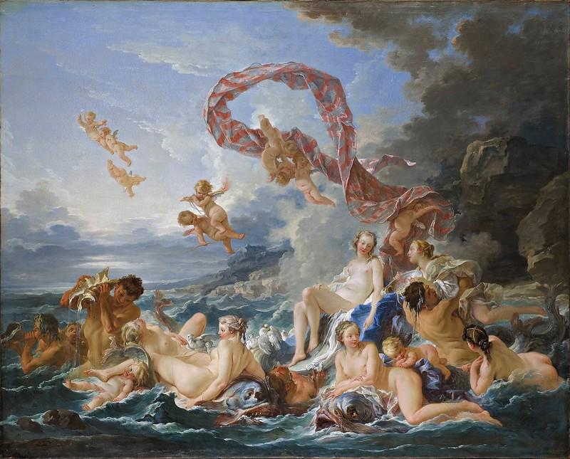 François Boucher - The Triumph of Venus (c.1740)