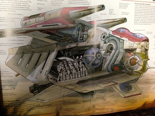 lego星球大战 75021 republic gunship 共和国炮艇