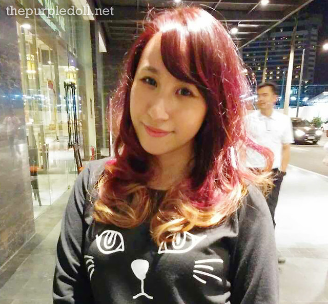 Sumi The Purple Doll LPK Hair Makeover