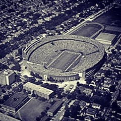 #TBT to the original Tulane Stadium. Who's excited for Yulman Stadium this fall?! #onlyattulane #tulane