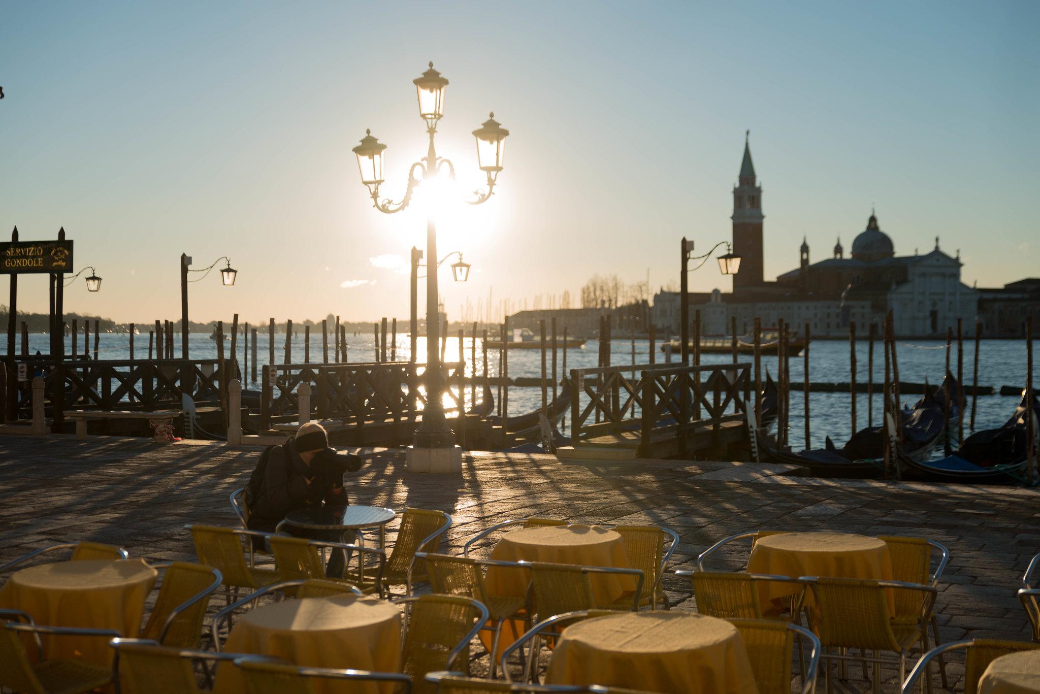 Breakfast in San Marco Venice Italy