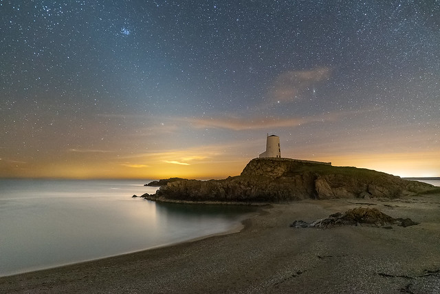 'Zodiacal Light at Llanddwyn' - Anglesey
