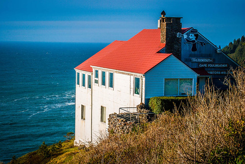 Cape Foulweather Lookout Spot