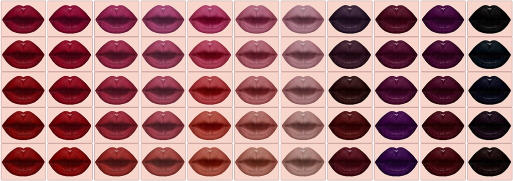 !IT! - Fascination Lipstick Swatches 1 - 11 - SecondLifeHub.com