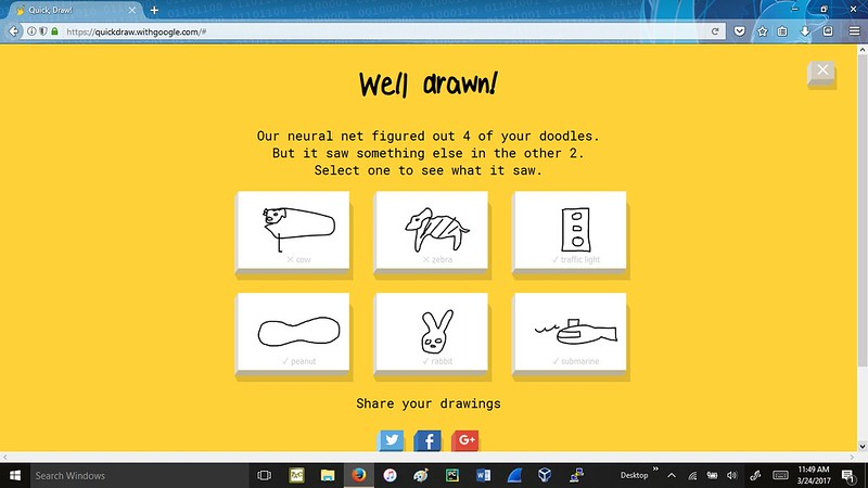 Google Drawing Game